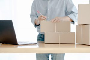 shipping and packing materials