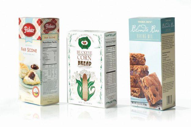 food packaging baking mix