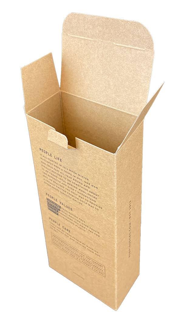 Printed Folding Carton One Color