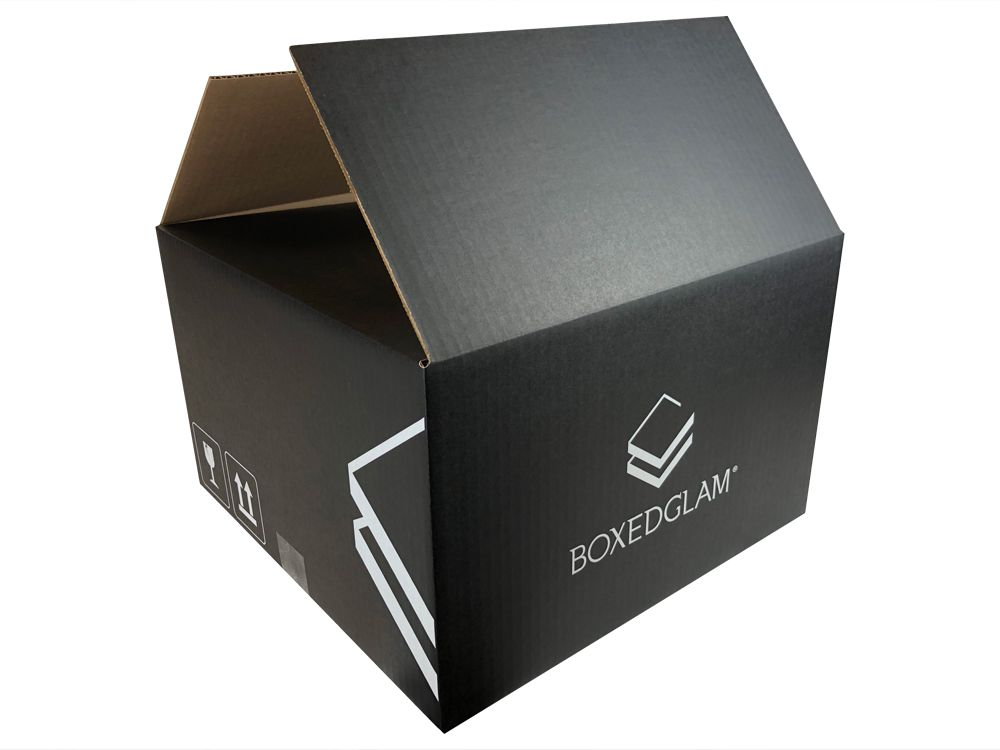black and white box