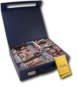 Custom Box Specialty Suitcase Redbull