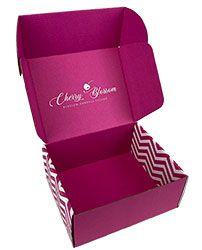 Custom mailer box - Cherry Blossom