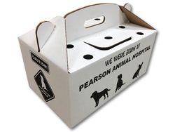 Custom tote box
