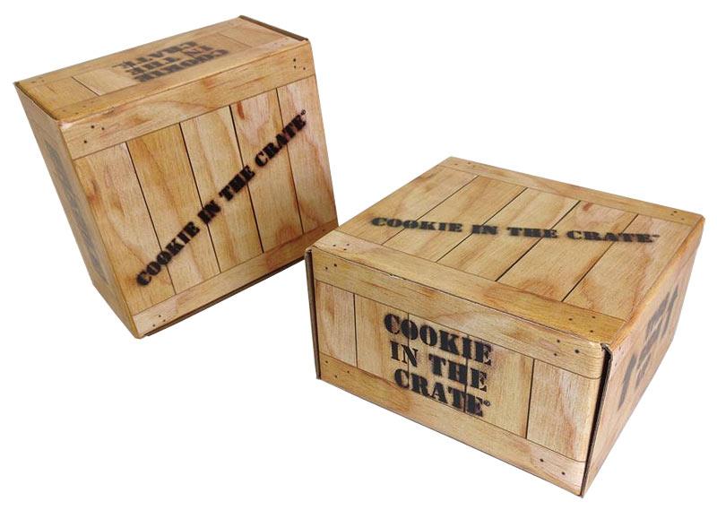 Custom Mailer Box Cookie Crate