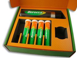 Custom Mailer Box Berocca