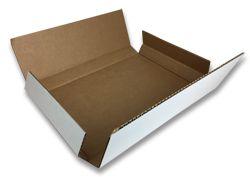 One piece folder box
