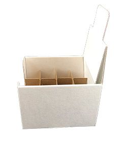 Shipper display box with 12 cells dividers 2 oz