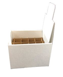 Shipper display box with 12 cells dividers 1 oz