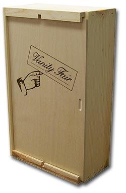 Specialty Wooden Box Vanity Fair